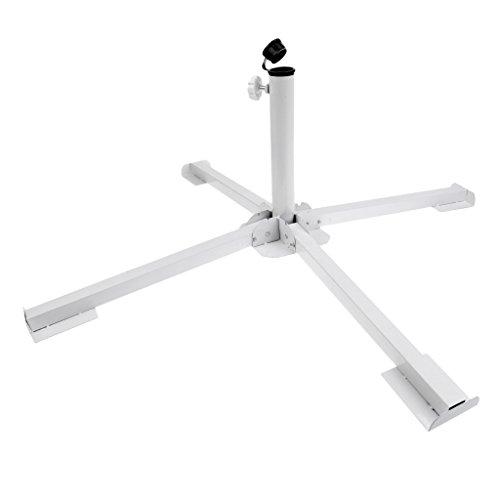 MagiDeal Pliable Portable Trépieds Base Support Porte-Parapluie Parasol Terrasse Extérieure Plage