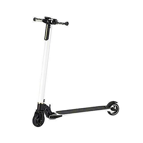 Scooter para Adultos Scooter Urbano Altura Ajustable, Velocidad Máxima 14 mph Rango...