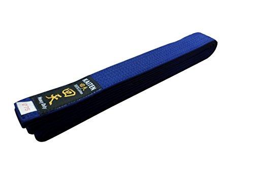 Kaiten Karategürtel blau Budogürtel Baumwolle Blaugurt (350)