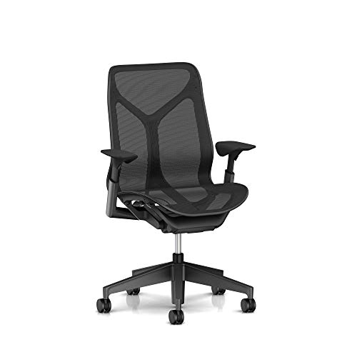 Herman Miller Cosm Chair, Mid Back, Graphite