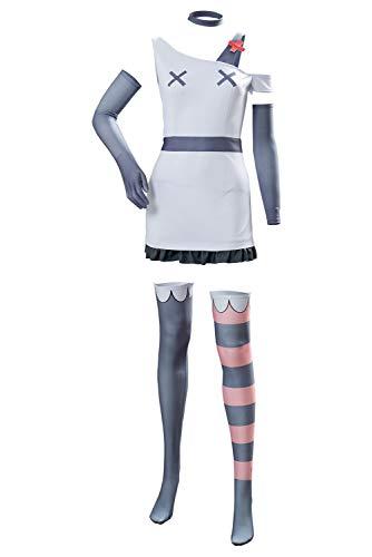 RedJade Hotel Hazbin VAGGIE Suit Traje de Cosplay Disfraz Mujeres XL