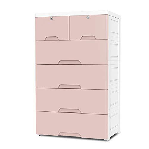 YBWEN eenvoudige kast 5 lade kinderen dressoir opbergkast met sloten speelkamer studie kamer entree rekken en opslag