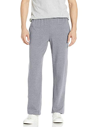 Hanes Men's Jersey Pant, Light Steel, XX-Large