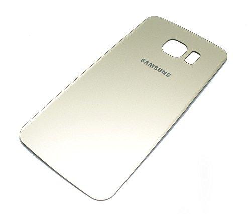 E-NUC Carcasa Trasera Compatible Samsung Galaxy S6 Edge Oro