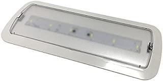 Luz de Emergencia Led de 3W -Luz Fría 6000/6500k - 200 Lm - Led SMD 5730 de alto rendimiento - Instalación en superficie y empotrable - Resistente al fuego. BOMBILLASLED360