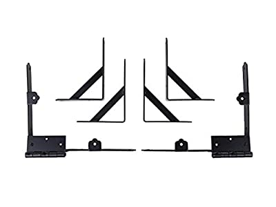 Nuvo Iron Gate Corner Brace and Hinge Kit CBHK01