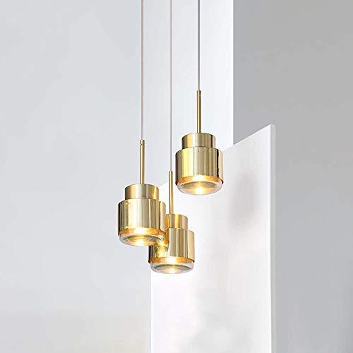 FAGavin Nachttischlampe, Post-modern, leicht, luxuriös, Metall, klein, goldfarben,...