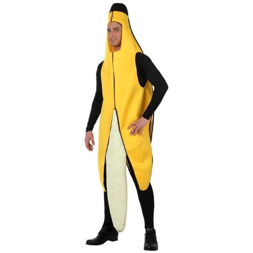 Atosa-10567 Disfraz Plátano, color amarillo, M-L (10567 ...
