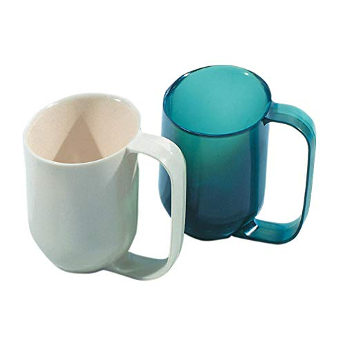Weighted Base Dysphagia Cup, Almond