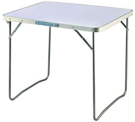 Mesa de camping Tabla de camping de aluminio plegable 80 x 60...