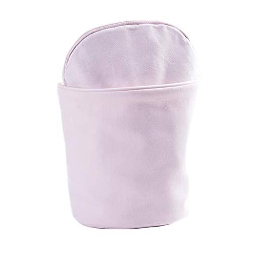 Trousse de toilette Long Sac cosmétique Stockage Séparation Humide et sèche Grande capacité Voyage Multifonctionnel portatif Simple Lavage Universel Multi-Couleur 13.5 * 24 cm MUMUJIN (Color : Pink)