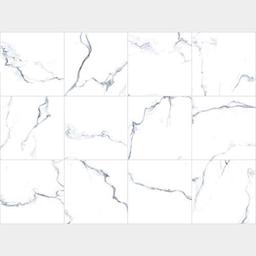 Peel and Stick Backsplash, 10-Sheet 12' x 12' Marble Wallpaper Granite Paper Self Adhesive Decorative Wallpaper