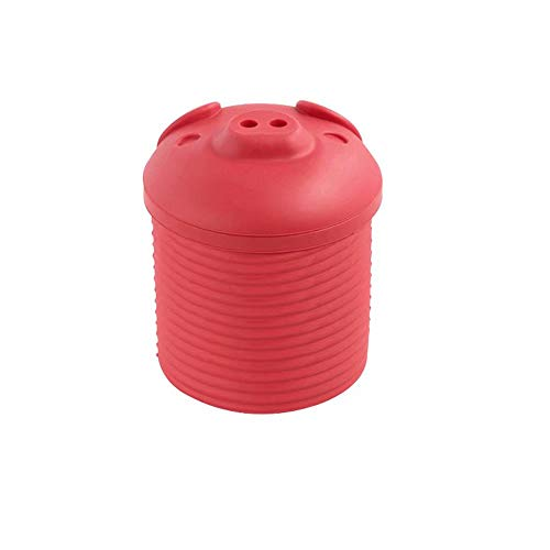 Alpertie Bacon Grease Container with Grease Strainer for Storing Fats Keto and Paleo Cooking Oil and Drippings