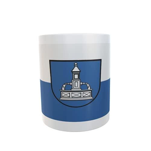 U24 Tasse Kaffeebecher Mug Cup Flagge Baiersbronn