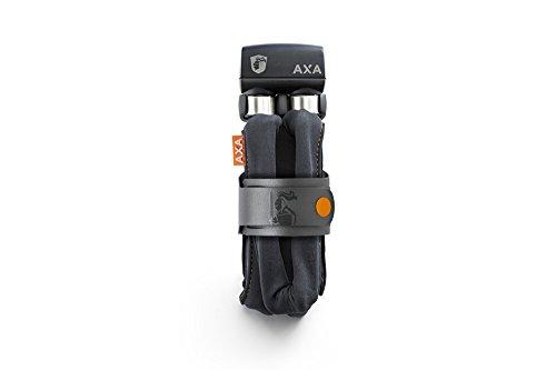 Axa Unisex Faltschloss 800 Fahrrad Faltschloss Grau 1000mm x 8mm