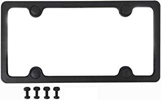Custom Accessories 92502 Sport License Plate Frame with Fasteners