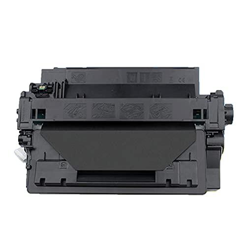UKKU Cartuchos de tóner para Cartuchos de tóner HP ce255a, compatibles con impresoras HP Laserjet Pro p3015 3015d 3015dn 3015x con Accesorios electrónicos para computador Black