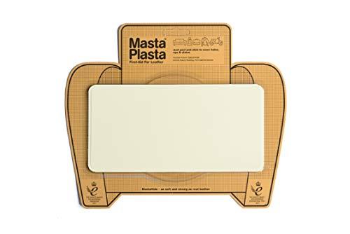MastaPlasta Leder-Reparaturflicken, selbstklebend, Elfenbein Wählen Sie Größe/Design. Erste Hilfe für Sofas, Autositze, Handtaschen, Jacken usw