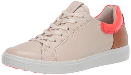ECCO Damen Soft 7 W Sneaker, Vanilla Coral Neon Lion 51899, 39 EU