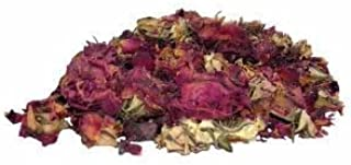 Herbs & Tea, Rosa De Castilla Rosebud Petals, 1/4-ounce Cellophane Bags (Pack of 4)