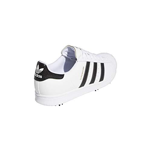adidas Superstar Spiked Golfschuh Herren White 44