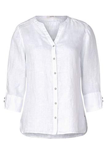 Cecil Damen 341886 Bluse, White, XX-Large