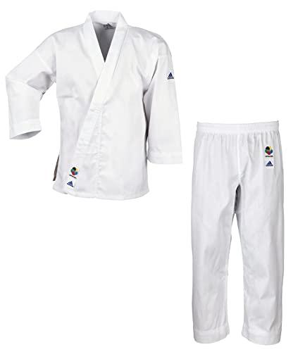 Adidas K200E - Kimono de artes marciales, para niños, color Blanco (brilliant white), 140/150