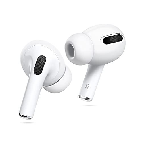 Amial Europe - Ear Caps Almohadillas Auriculares Compatible con AirPods Pro [6 Piezas] EarPods Orejeras Protectoras de Silicona [Flexible Suave Anti-Slip] [Calidad Extra] (Blanco)