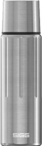 Sigg Gemstone IBT Selenite Thermo Trinkflasche (0.5 L), schadstofffreie und isolierte Trinkflasche, auslaufsichere Thermo-Flasche aus Edelstahl