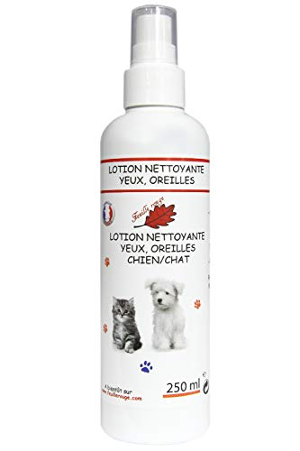 Feuille rouge - Lotion Chiens & Chats - Yeux & Oreilles - 250 ML