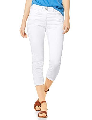 Cecil Damen 373018 Vicky 24 inch Hose, White, W29/L24