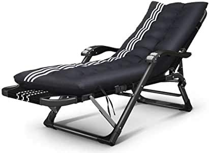 MGE 52 cm Super Width Folding Zero Gravity Chairs Beach Chairs Sun Lounger Recliner for Beach Patio Garden Square Steel Legs with Free Holder 200kg Capacity (Color : D)