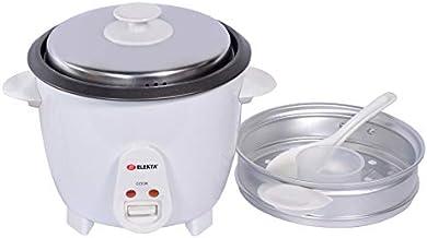 طنجرة طهي ارز اسطوانية 1 لتر مع جهاز بخار من اليكتا