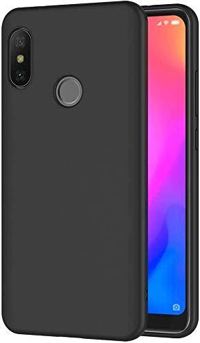 Olliwon Funda Compatible con Xiaomi A2 Lite, Slim Silicona TPU Carcasa 360 Cover Case para Xiaomi A2 Lite Nergo