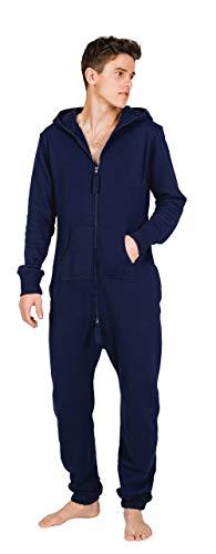 Moniz Herren Jumpsuit (M, Midnight Navy)
