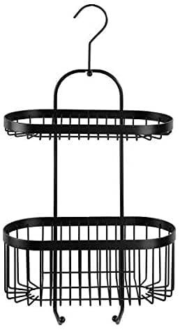 Hanper Colgador de ducha para colgar el soporte de ducha de acero inoxidable (D).