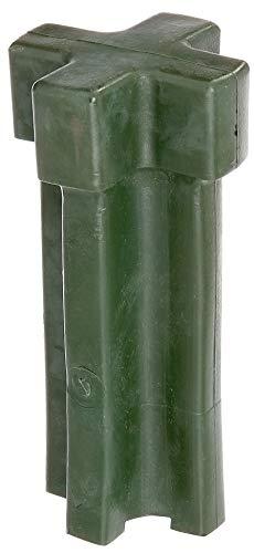 GAH-Alberts 211233 Einschlag-Werkzeug | für Einschlag-Bodenhülsen 70 x 70 mm und Ø80 mm | Kunststoff, grün