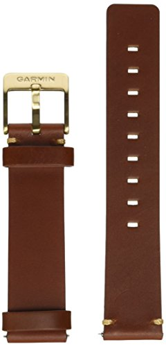 Garmin 010-12495-05 Ersatzarmband für vivomove Leder hell braun