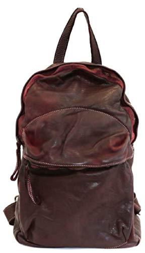 BZNA Bag Noah weinrot Backpacker Designer Rucksack Damenhandtasche Schultertasche Leder Nappa ItalyNeu