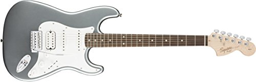 Squier by Fender Affinity Series Stratocaster HSS Electric Guitar - Laurel Fingerboard - Slick Silver