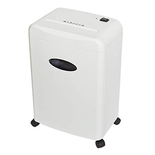 Great Price! Cajolg Paper Shredder,with overheat Protection Ultra Quiet 16L Large Capacity Office Cr...