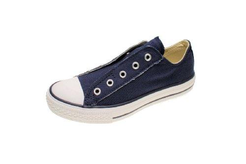 Converse Chucks Kids - CT AS Slip YTH 3V020 - Navy-White, Schuhgröße:30