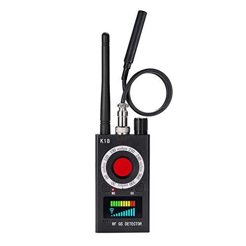 JMDHKK Anti Spy Detector, Bug Detector ,Bug Sweepers ,RF Signal Scanner Device Detector for Hidden Camera Laser Lens GSM Listening Device Finder Wireless GPS Tracker