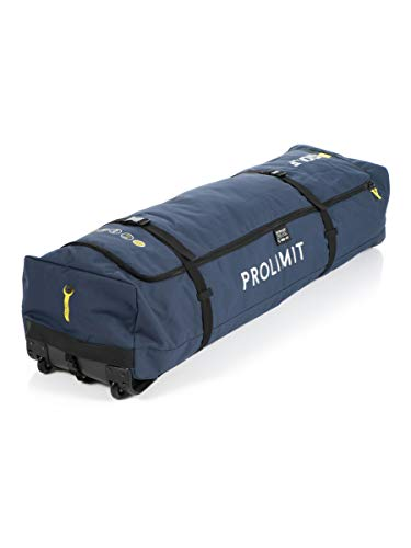2018 Prolimit Kitesurf Travel Light Golf Board Bag 150x45 Pewter / Yellow 83344