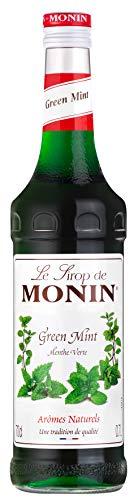 Monin Grüne Minze Kaffee Sirup 700ml Glasflasche
