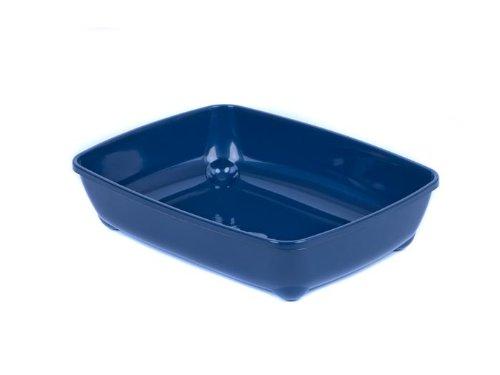adena Katzentoilette Schalentoilette in 4 Grössen S M L XL Farbauswahl - Medium 42 blau