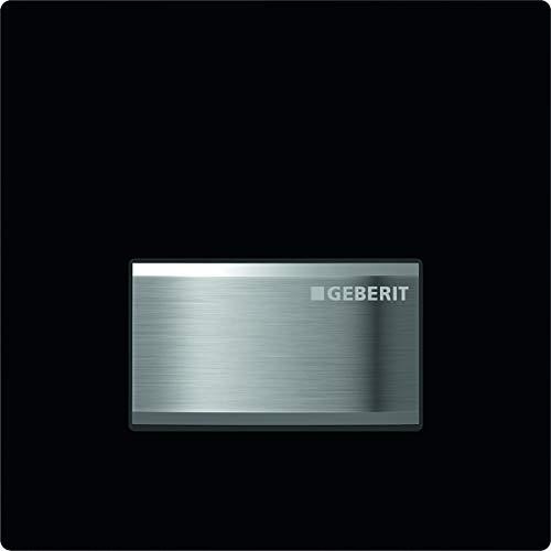 Geberit 116.016. DW. 5–System Download-Sigma50, Bedienung manuell, schwarz RAL 9005
