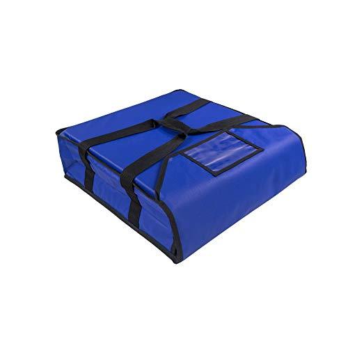 PizzaBag, Premium Pizza-Liefertasche für Lieferdienste (45 * 45 * 12 cm, Blau)