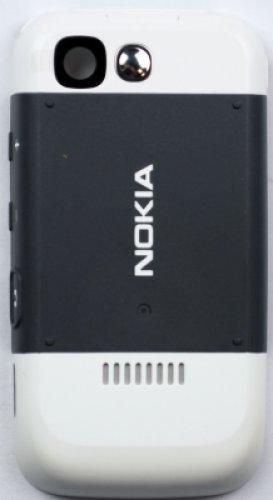 Nokia Cover Copri Batteria 5300 5200 Bianco Silver Originale