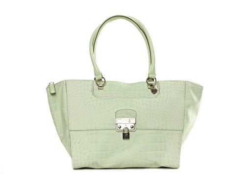 Guess Shopper Schultertasche Tasche Yorkshire Grün